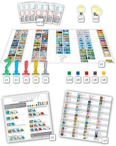 concept juego de mesa