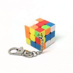 llavero de cubo de rubik
