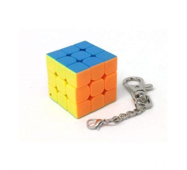 rubik cube keychain