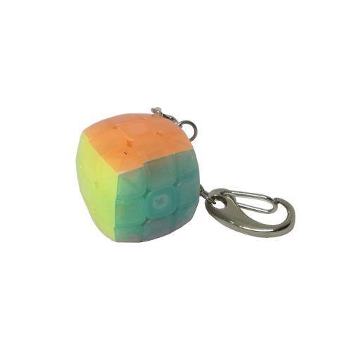 llavero de cubo 3x3 jelly