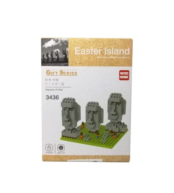 Micro blocks Isla de Pascua