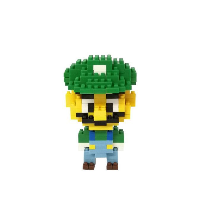 Mini blocks Luigi