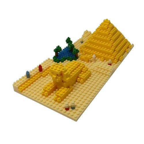 mini blocks piramide y esfinge