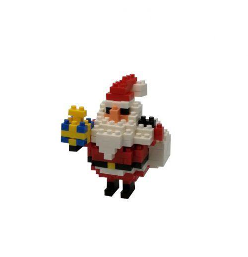 mini blocks papa noel