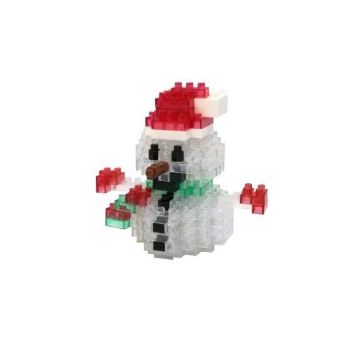 mini blocks snowman