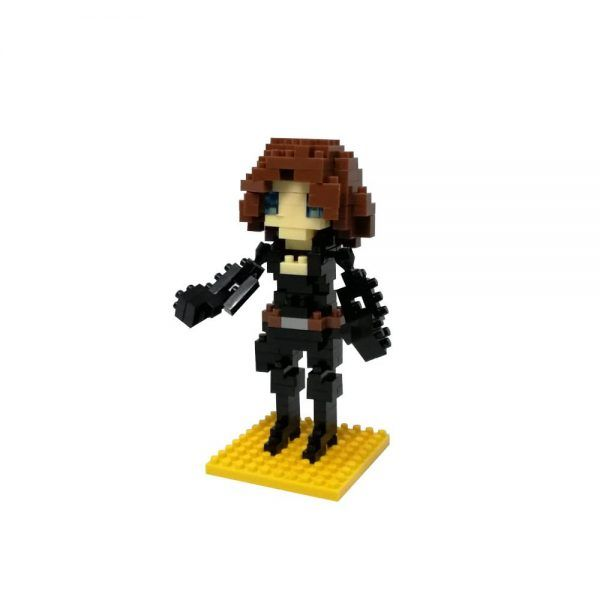 mini blocks viuda negra