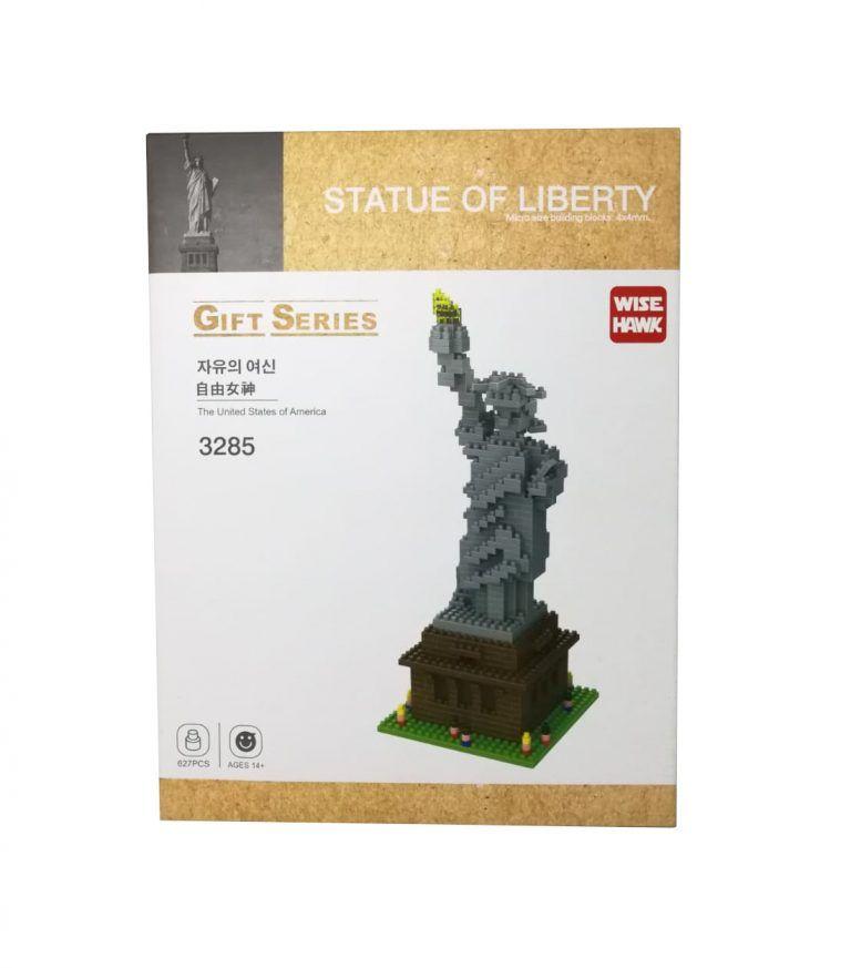 mini blocks estatua de la libertad