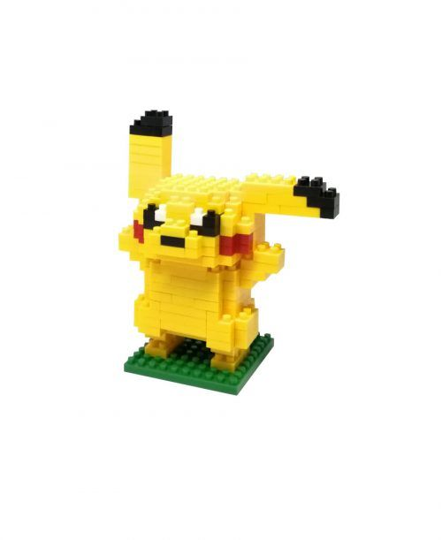 mini blocks pikachu