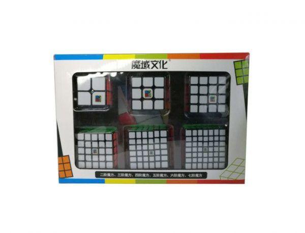 pack de cubos 234567