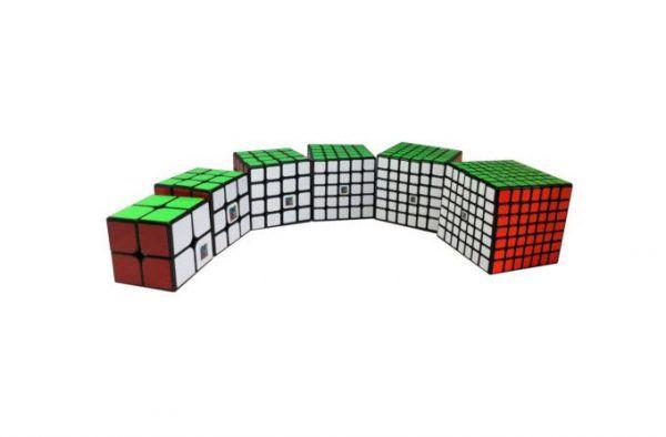 set cubos del 2x2 al 7x7