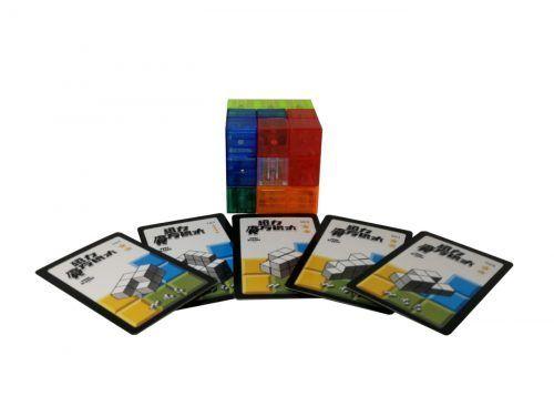cubo de bloques magneticos construir