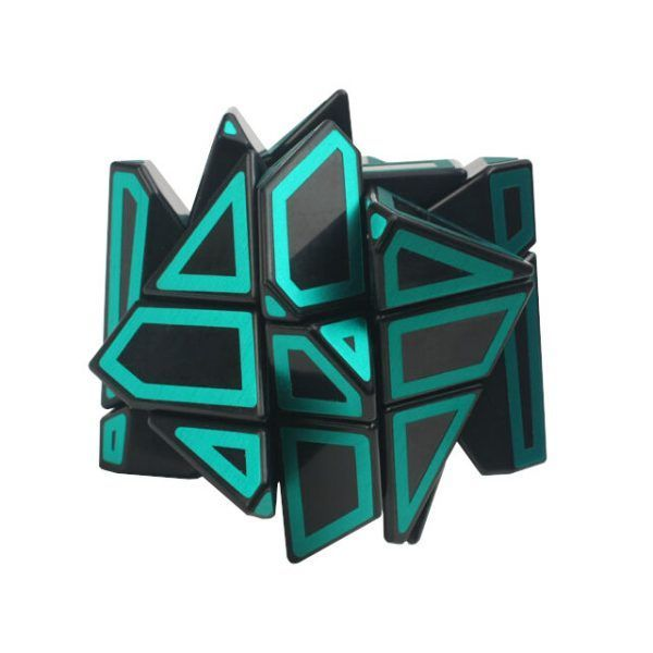 green ghost cube