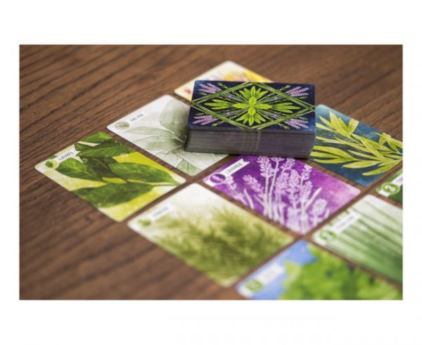 juego de cartas herbaceas