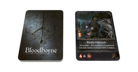 Bloodborne juego de cartas