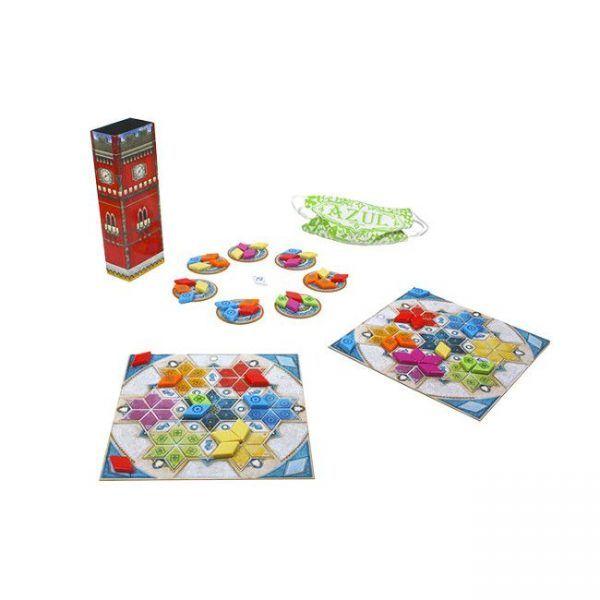 juego Azul Pabellón de Verano