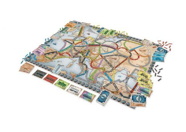 ¡Aventureros al Tren! Europa juego