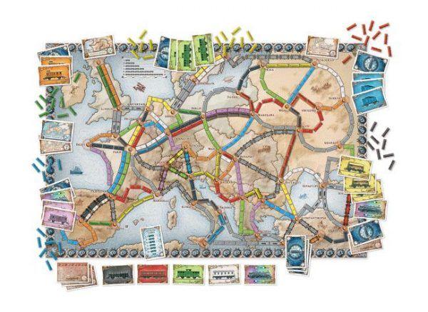comprar ¡Aventureros al Tren! Europa juego