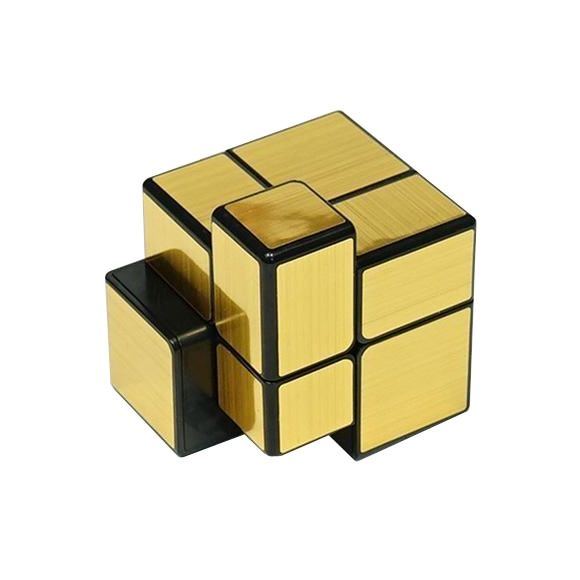 QiYi mirror 2×2 golden