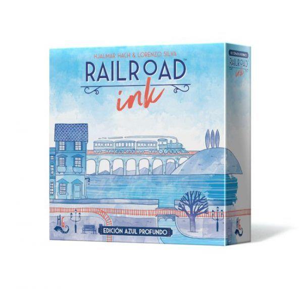 Railroad Ink Azul Profundo