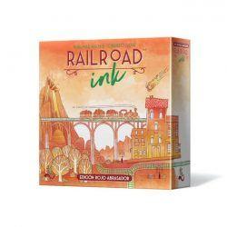 Railroad Ink Rojo Abrasador