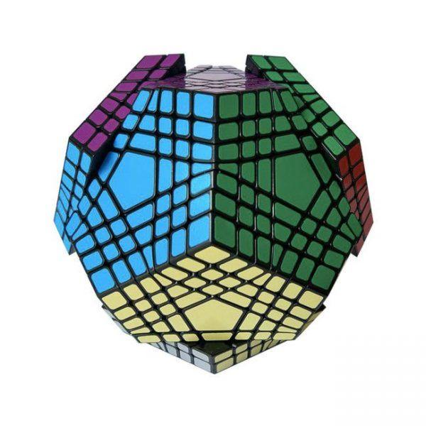dodecaedro de 7 capas