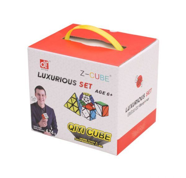 pack 8 cubos deluxe qiyi