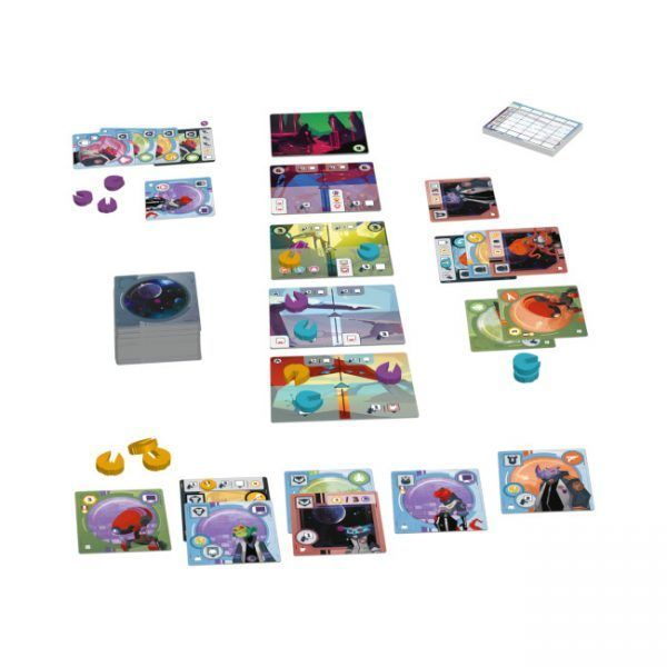 juego de mesa wild space