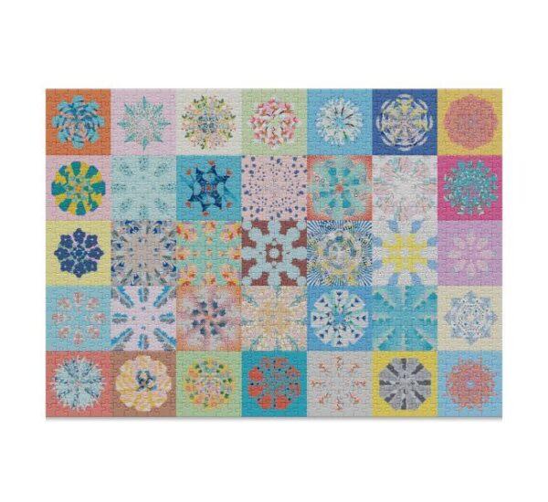 Cloudberries Patchwork puzzle