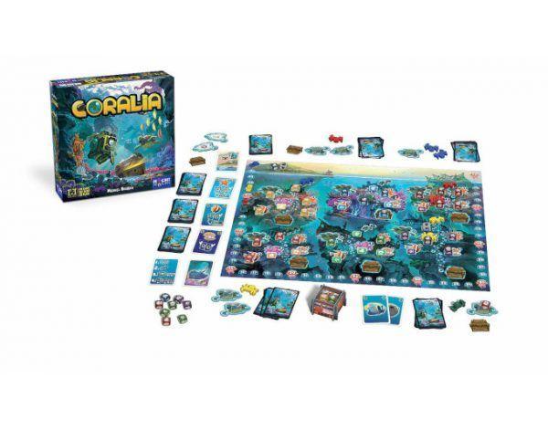 coralia juego de mesa