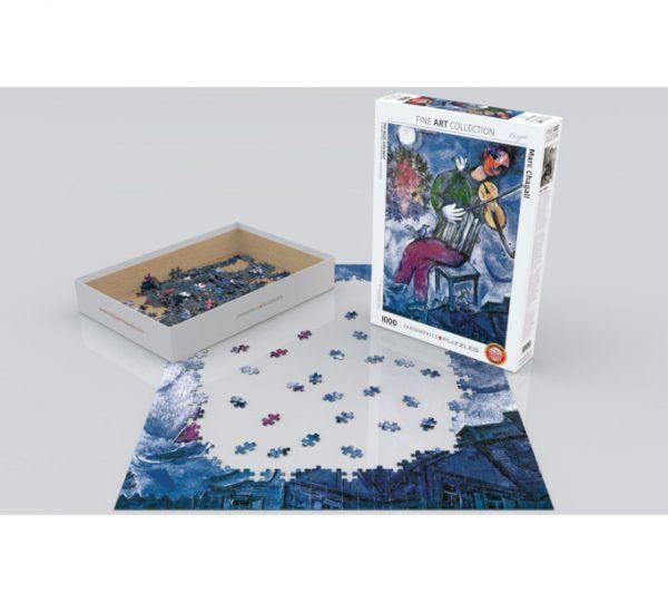 puzzle El violinista azul