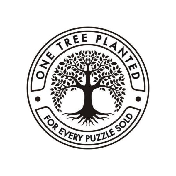 puzzles Cloudberries planta un arbol