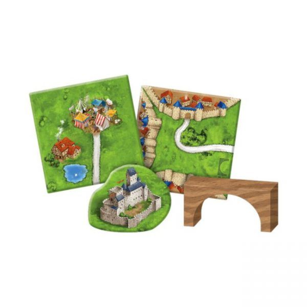 Carcassonne Mercaderes y Puentes expansion