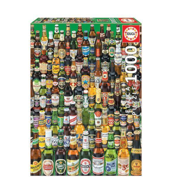 Educa Cervezas 1000 piezas