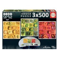Educa Exotic Fruits and Flowers
