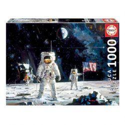 Educa First Men on the Moon