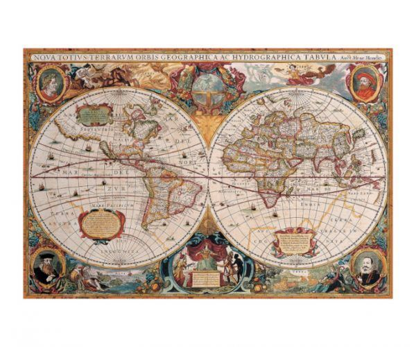 EuroGraphics Antique World Map 2000