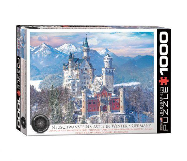 EuroGraphics Castillo Neuschwanstein invierno