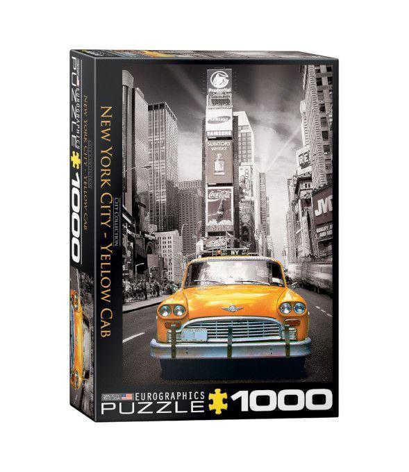 EuroGraphics New York City Yellow Cab