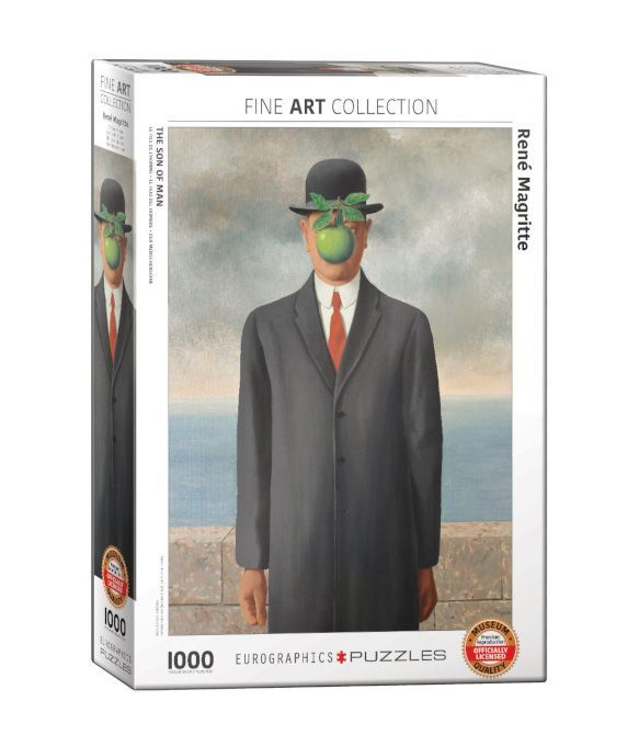 EuroGraphics Son of Man de René Magritte