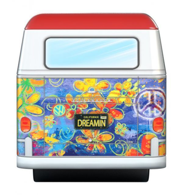 EuroGraphics volkswagen Bus Tin Wave Hopper