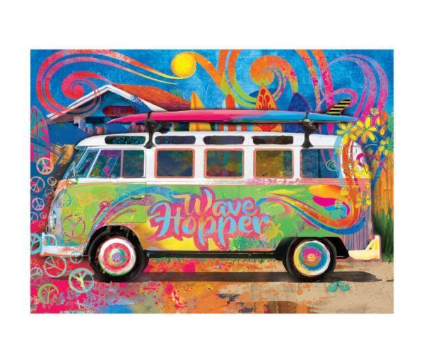 EuroGraphics volkswagen Bus lata
