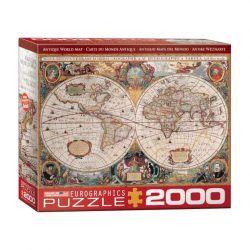 Eurographics Antiguo Mapa del Mundo