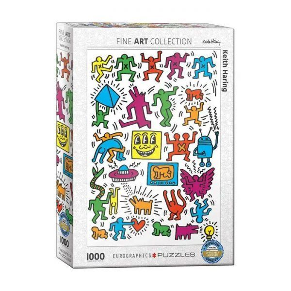 Eurographics Collage Keith Haring