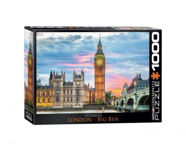 Eurographics London Big Ben puzzle