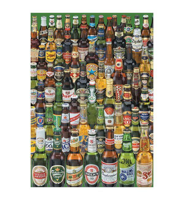 Puzzle Cervezas 1000 piezas