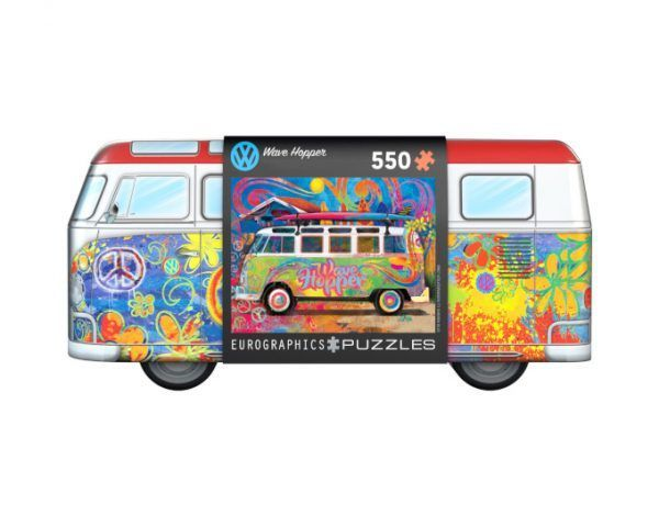 VW Bus Tin Wave Hopper Eurographics
