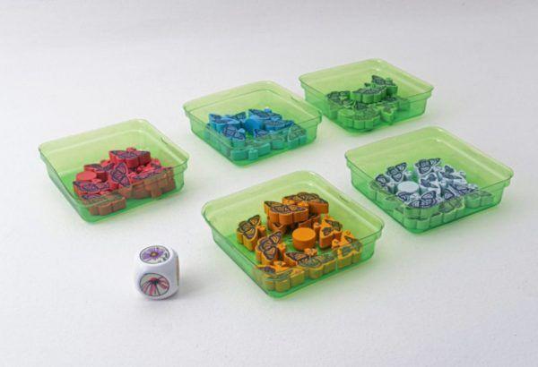 componentes juego mariposas