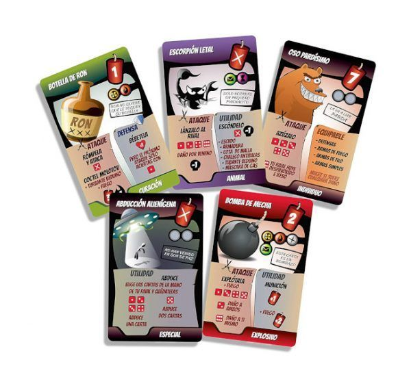 juego de cartas kamikaze