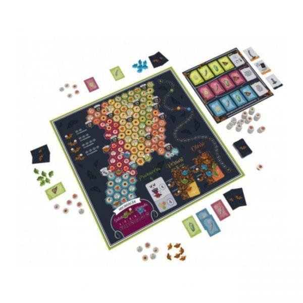 juego de mesa mariposas