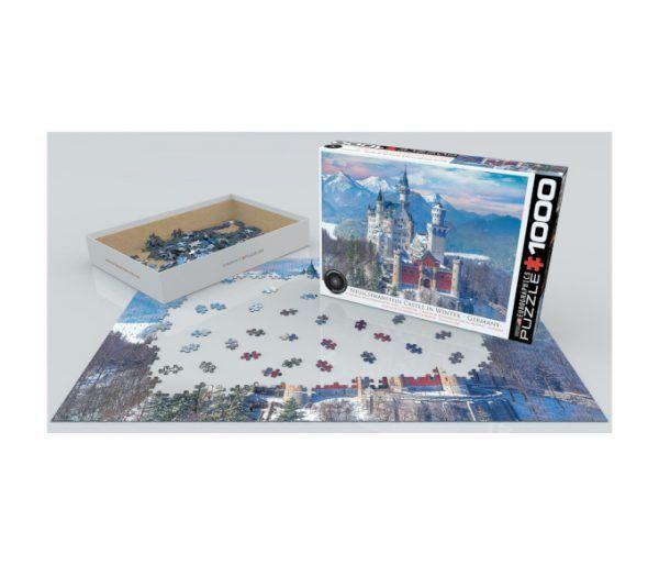 puzzle Castillo Neuschwanstein invierno